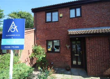Thumbnail 3 bed terraced house to rent in Glebe Close, Maids Moreton, Buckingham
