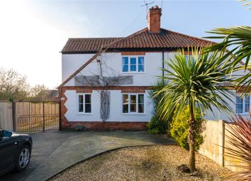 Thumbnail 4 bed semi-detached house for sale in Russell Avenue, New Balderton, Newark