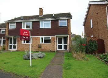 Thumbnail 3 bed semi-detached house for sale in Moat Farm Close, Ipswich