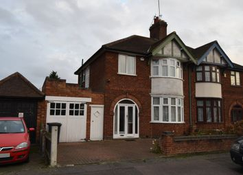 Thumbnail 3 bedroom semi-detached house for sale in Peters Drive, Humberstone, Leicester