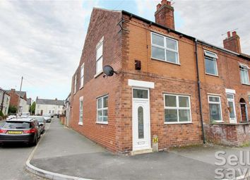Thumbnail 3 bed end terrace house for sale in Chapel Road, Chesterfield, Derbyshire