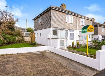 Thumbnail 2 bed semi-detached house to rent in Treverbyn Road, St. Ives