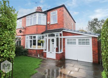 Thumbnail 3 bed semi-detached house for sale in Partington Street, Worsley, Manchester