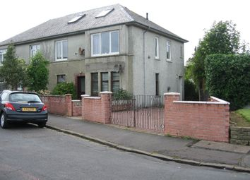Thumbnail 2 bed flat to rent in Harper Crescent, Largs, North Ayrshire