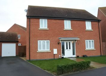 Thumbnail 4 bed detached house for sale in Burghfield Green, Gunthorpe, Peterborough, Cambridgeshire