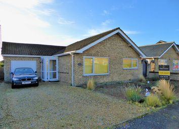 Thumbnail 3 bed detached bungalow for sale in Poplar Road, West Winch, King's Lynn