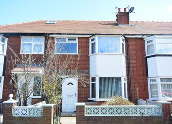 Thumbnail 3 bed terraced house to rent in Harold Avenue, Blackpool
