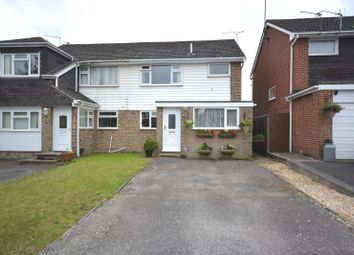 Thumbnail 3 bed semi-detached house for sale in Lynwood Drive, Merley, Wimborne