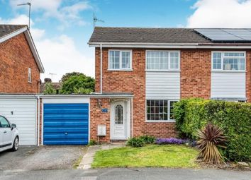 Thumbnail 3 bed semi-detached house for sale in Hughes Close, Harvington, Evesham, Worcestershire
