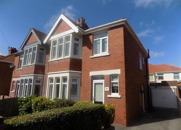 Thumbnail 3 bed property to rent in Ravenwood Avenue, Blackpool
