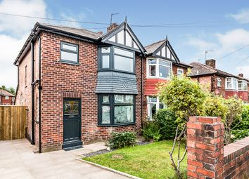 Thumbnail 3 bed semi-detached house for sale in Hallwood Avenue, Salford, Greater Manchester
