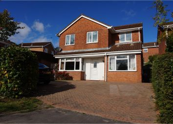 Thumbnail 5 bedroom detached house for sale in Carlyle Close, Galley Common, Nuneaton