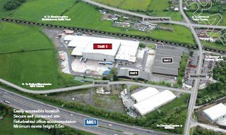 Thumbnail Industrial to let in Unit 2, Blackrod Industrial Estate, Blackrod Industrial Estate, Station Road, Bolton, Lancashire