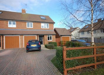 Thumbnail 4 bed semi-detached house for sale in Queens Mead, Aylesbury, Buckinghamshire