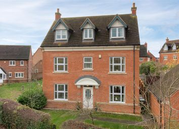 Thumbnail 5 bed detached house for sale in Burnaston Way, Loughborough