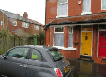 Thumbnail 3 bed end terrace house for sale in Granville Avenue, Whalley Range, Manchester