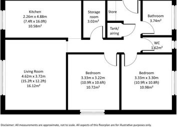 Thumbnail 3 bed flat to rent in Salisbury Close, Southwark