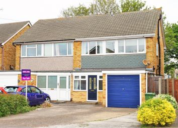 Thumbnail 5 bed semi-detached house for sale in Ozonia Way, Wickford