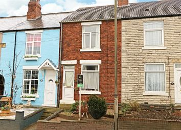Thumbnail 2 bed terraced house for sale in Chesterfield Road, Staveley, Chesterfield, Derbyshire