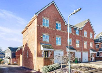 Thumbnail 3 bedroom end terrace house for sale in Rycroft Meadow, Beggarwood, Basingstoke
