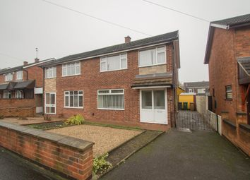 Thumbnail 3 bed semi-detached house for sale in The Leys, Newhall, Swadlincote