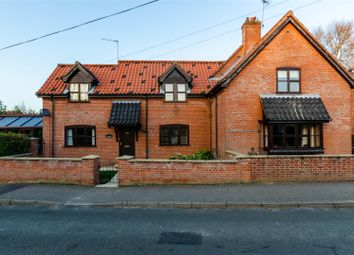 Thumbnail 6 bed detached house for sale in The Street, Thurlton, Norwich