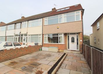 Thumbnail 4 bed end terrace house for sale in Shelson Avenue, Feltham