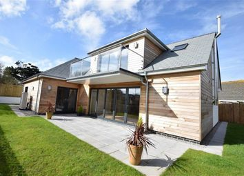 Thumbnail 4 bed detached house for sale in Long Park Drive, Widemouth Bay, Bude