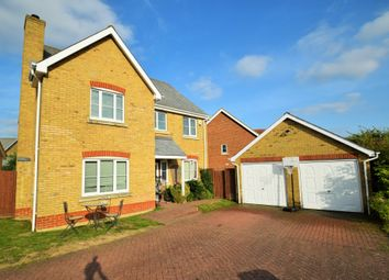 Thumbnail 4 bed detached house for sale in Wells Way, Debenham, Stowmarket