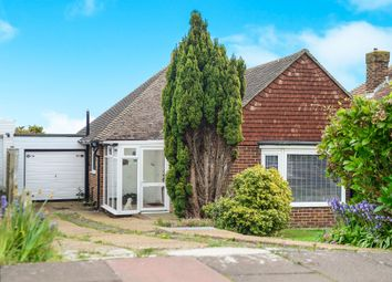 Thumbnail 2 bed bungalow for sale in Willingdon Park Drive, Eastbourne