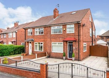 Thumbnail 3 bed semi-detached house for sale in Norbury Avenue, Warrington, Cheshire, England