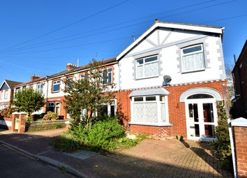 Thumbnail 3 bed end terrace house for sale in Knowsley Crescent, Portsmouth