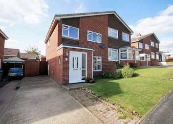 Thumbnail 3 bed semi-detached house for sale in Leckford Close, Fareham