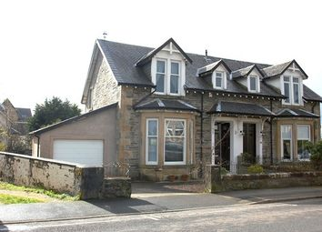Thumbnail 2 bedroom semi-detached house for sale in Royal Crescent, Dunoon