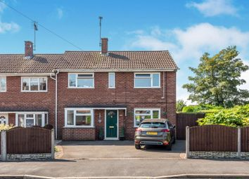 Thumbnail 3 bed end terrace house for sale in Lightfoot Road, Uttoxeter