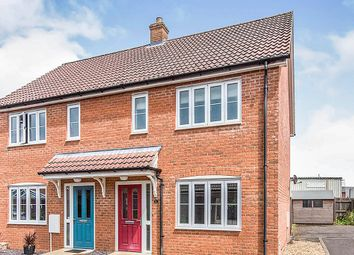 Thumbnail 2 bed semi-detached house for sale in Merchants Court, Watton, Thetford