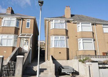 Thumbnail 2 bed semi-detached house for sale in Norfolk Road, Plymouth