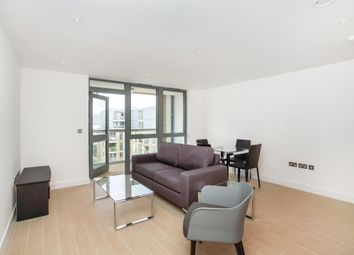 Thumbnail 1 bedroom flat to rent in Canalside Square, London