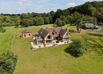 Thumbnail 5 bed detached house for sale in Swissland Hill, Dormans Park, East Grinstead