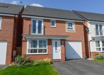 Thumbnail 4 bed detached house for sale in Brookvale Drive, Yarnfield, Stone