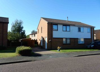 Thumbnail 2 bed semi-detached house for sale in Fountain Road, Rendlesham, Woodbridge