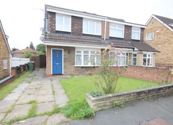 Thumbnail 3 bed semi-detached house for sale in Grayston Avenue, St. Helens
