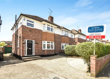Thumbnail 3 bedroom semi-detached house for sale in Queens Walk, Ruislip, Middlesex
