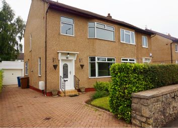 Thumbnail 3 bed semi-detached house for sale in Langside Drive, Glasgow