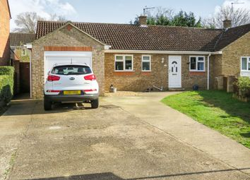 Thumbnail 3 bedroom semi-detached bungalow for sale in Heron Close, Beck Row, Bury St. Edmunds