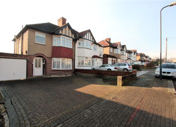 Thumbnail 3 bed semi-detached house to rent in Rossdale Drive, London