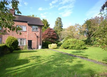 Thumbnail 3 bed semi-detached house for sale in Welsh Row, Nether Alderley, Macclesfield