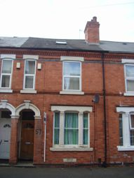 Thumbnail 4 bedroom shared accommodation to rent in Exeter Road, Nottingham