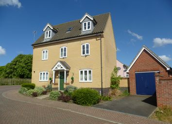 Thumbnail 5 bedroom detached house for sale in Beverley Close, Carbrooke, Thetford