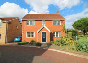 Thumbnail 4 bed detached house for sale in Rimer Close, Norwich